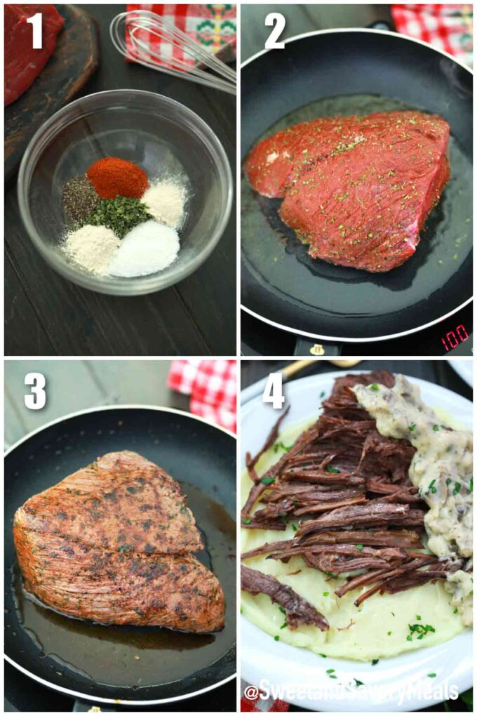 step how to make Swedish pot roast