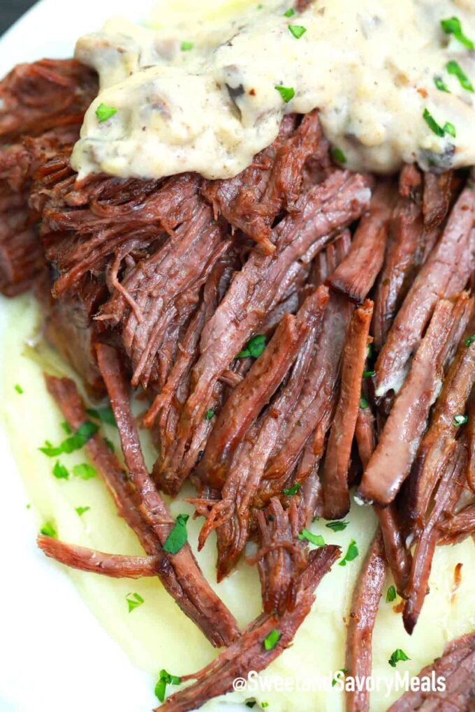 Swedish pot roast with gravy