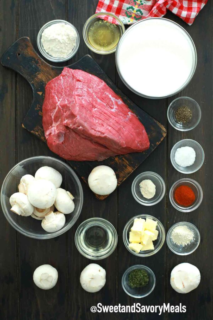 Swedish pot roast ingredients
