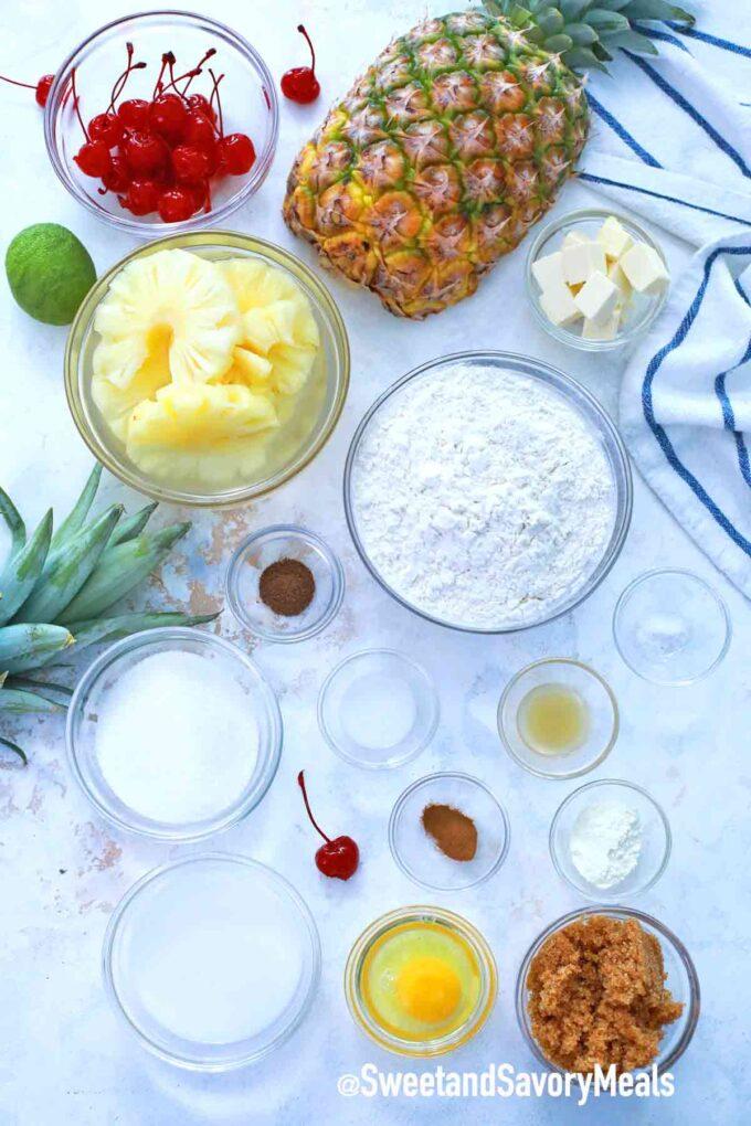 instant pot pineapple upside down cake ingredients