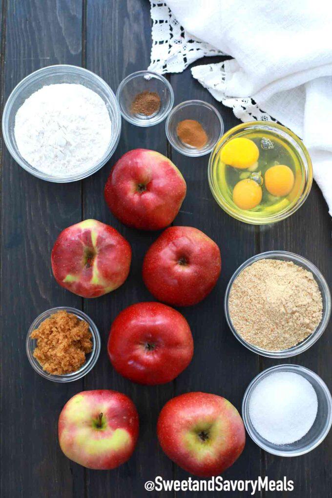 air fryer apples fries ingredients