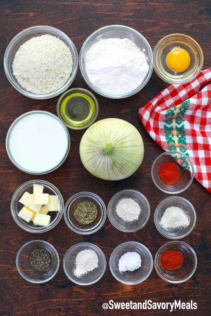 air fryer blooming onion ingredients