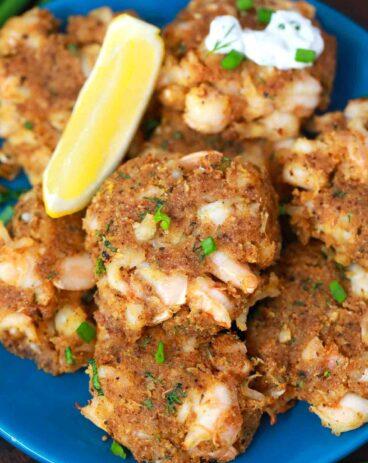 Air Fryer Shrimp Cakes