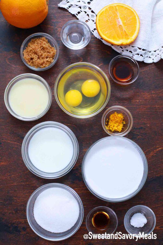 instant pot flan ingredients