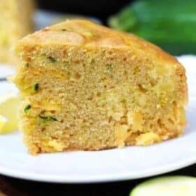 instant pot zucchini bread slice