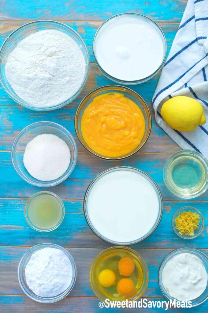 lemon poke cake ingredients