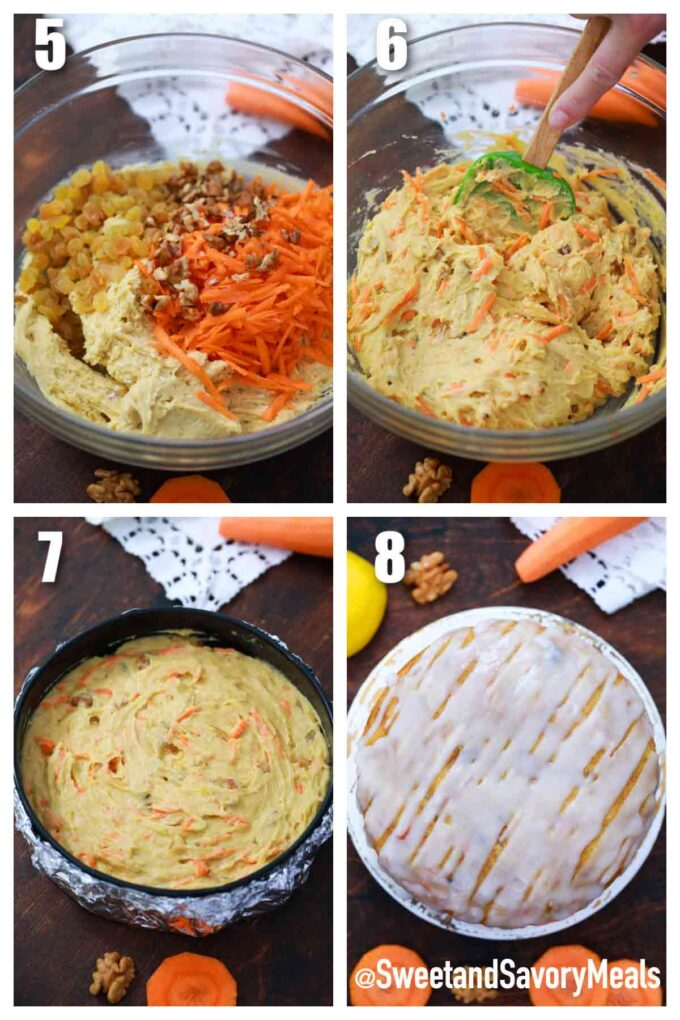 making instant pot carrot bread