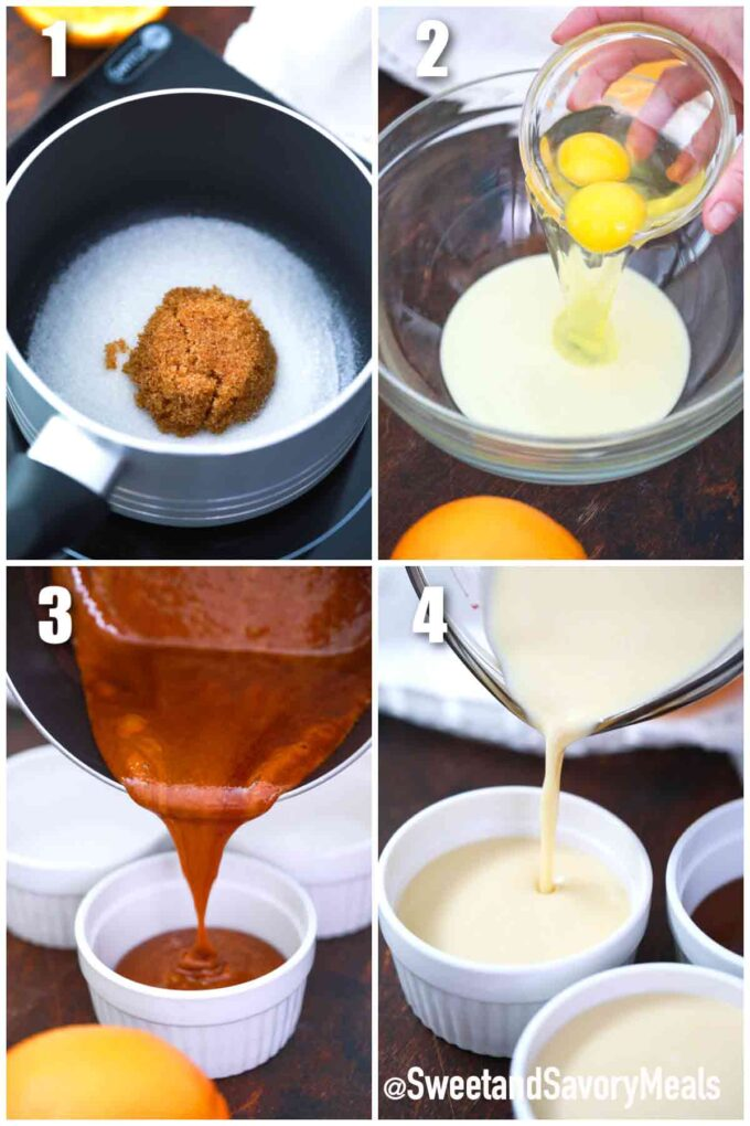 steps how to make instant pot flan