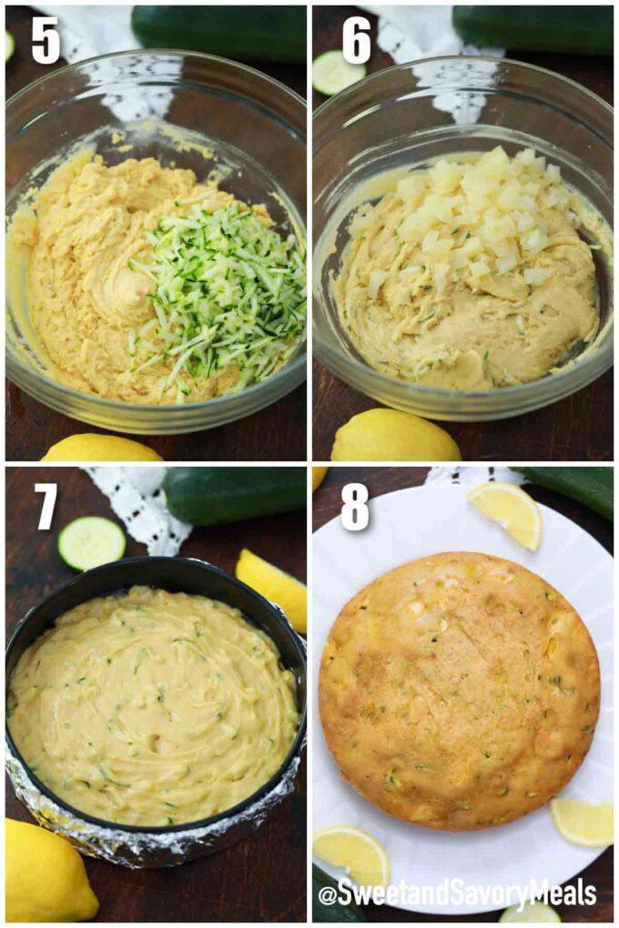 making instant pot zucchini bread