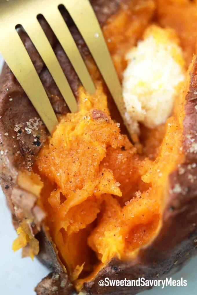 tender air fryer sweet potatoes