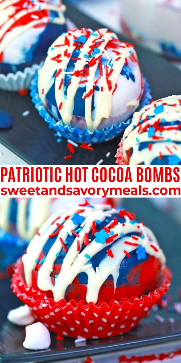 easy patriotic hot cocoa bombs pin