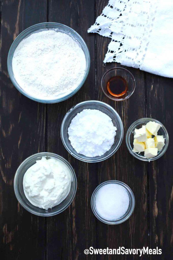 air fryer beignets ingredients