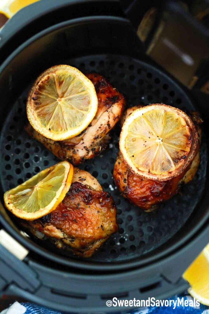 air fried lemon chicken