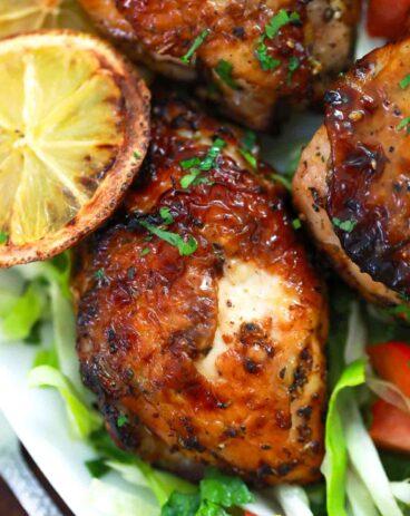 Air Fryer Lemon Chicken