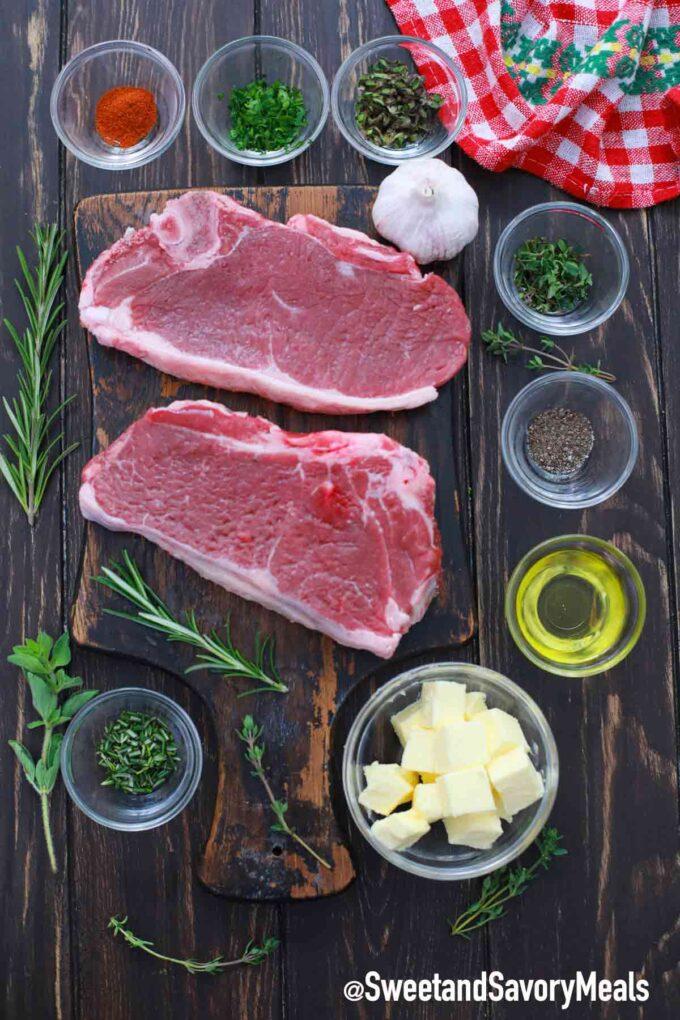 air fryer ribeye steak ingredients