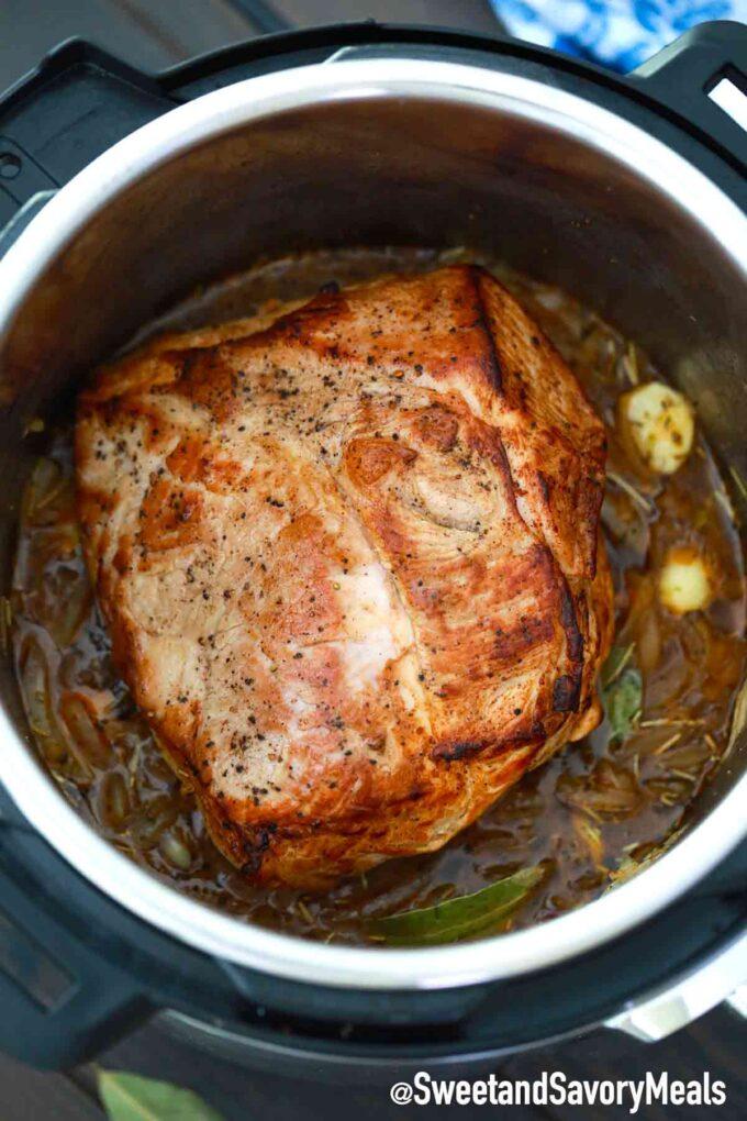 instant pot pork shoulder