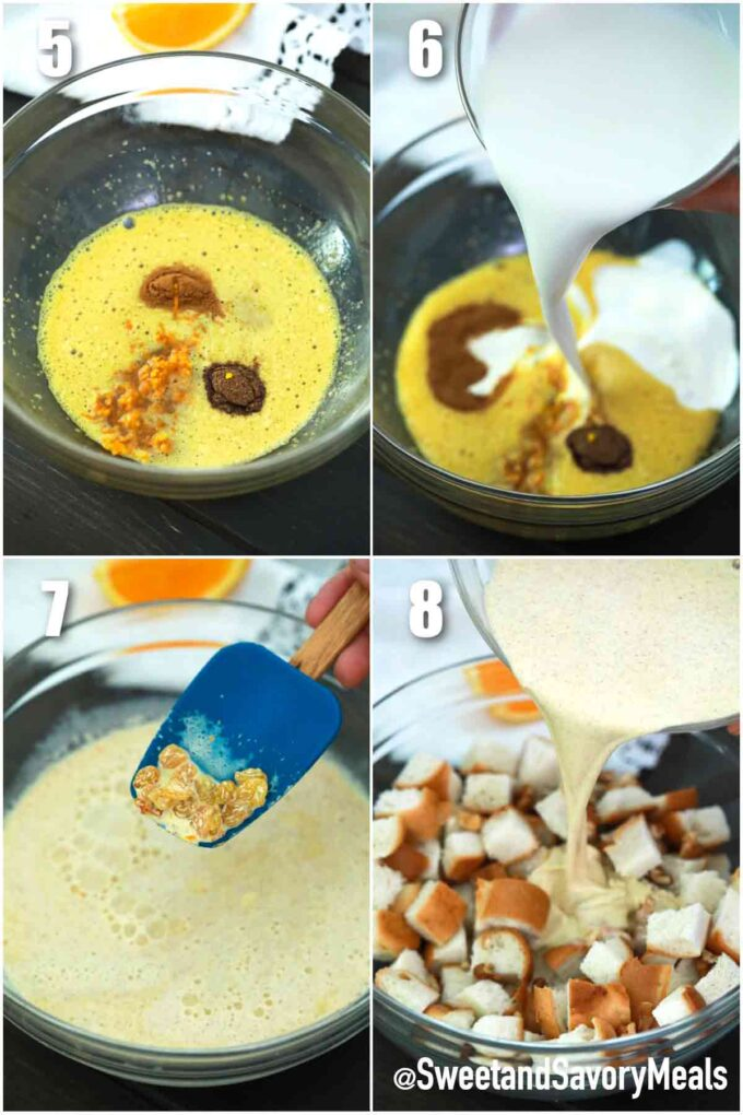 steps how to make instant pot bread pudding