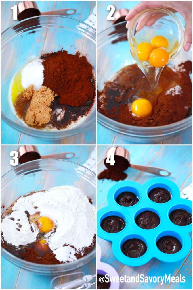 steps how to make instant pot brownie bites