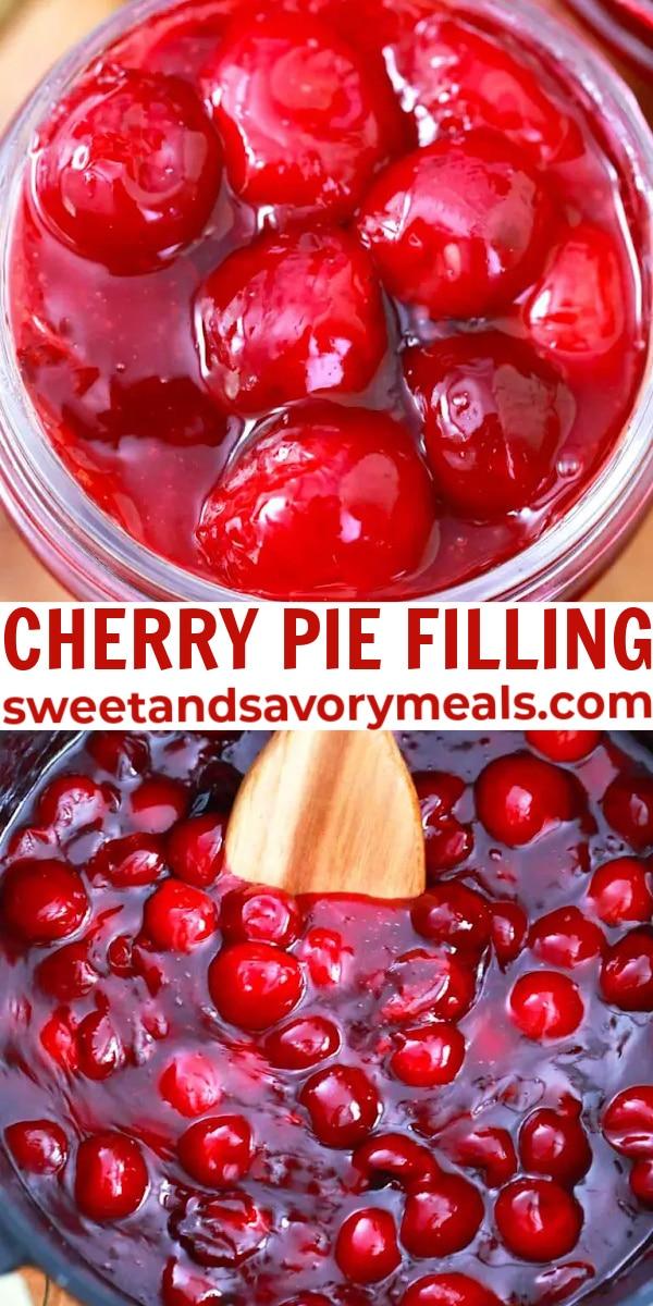 easy cherry pie filling pin
