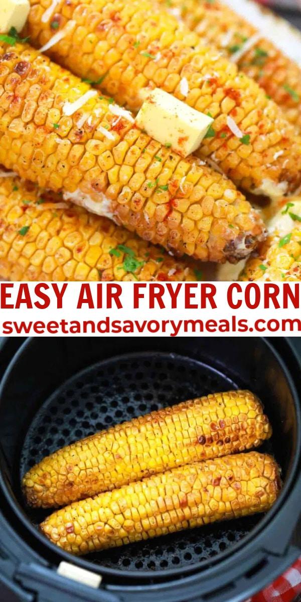 easy air fryer corn pin