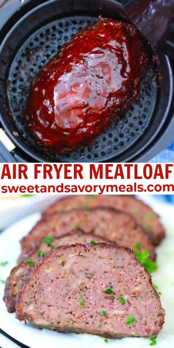 easy air fryer meatloaf pin