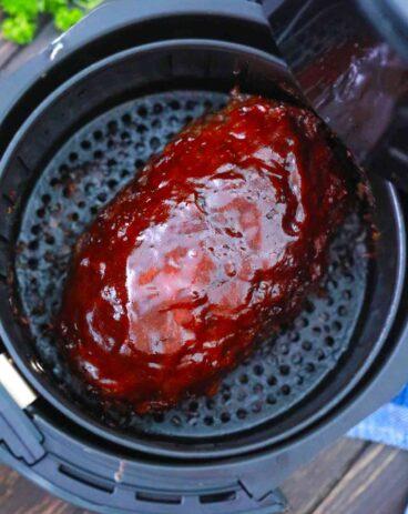 Air Fryer Meatloaf Recipe