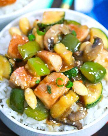 Almond Chicken Recipe