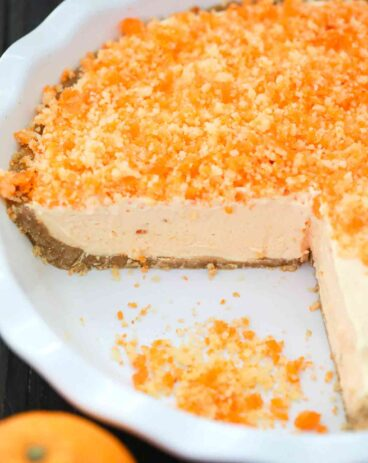 Orange Creamsicle Freezer Pie