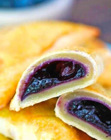 Air Fryer Blueberry Hand Pies