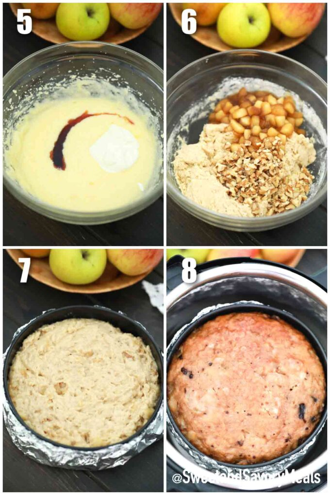 steps how to make instant pot apple bread