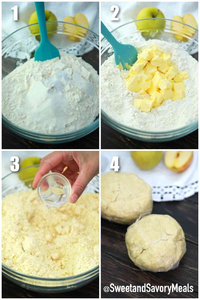 steps how to make pie crust