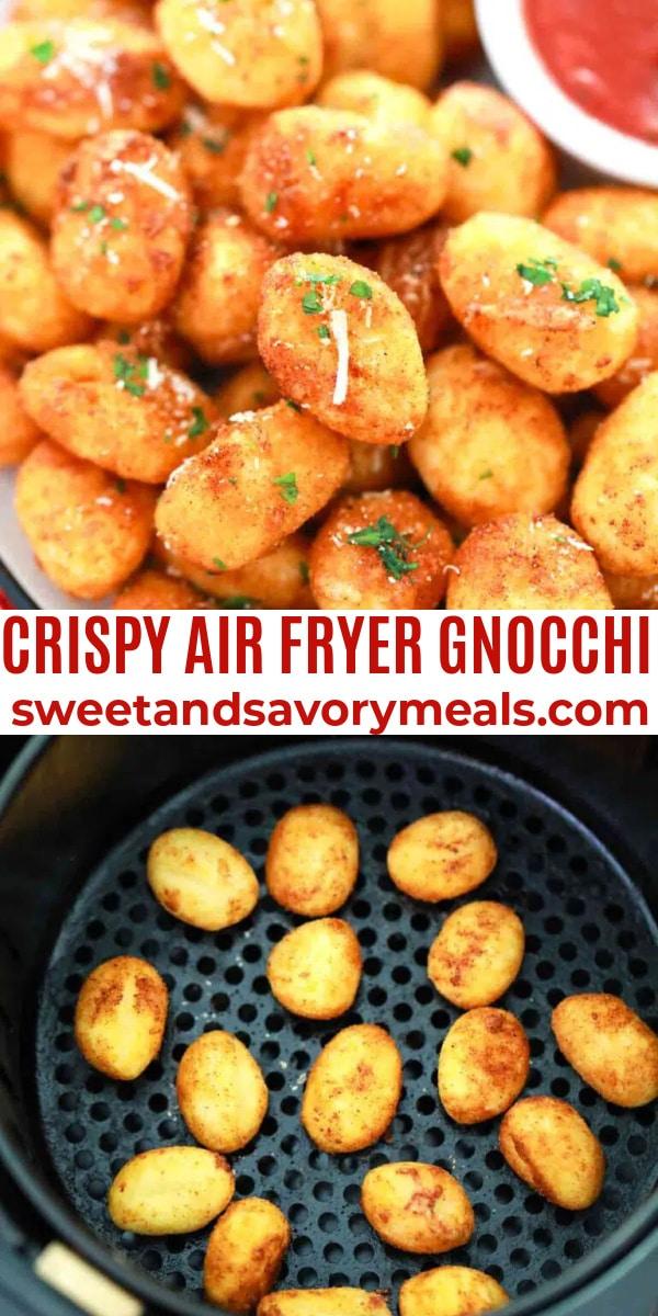 easy air fryer gnocchi pin