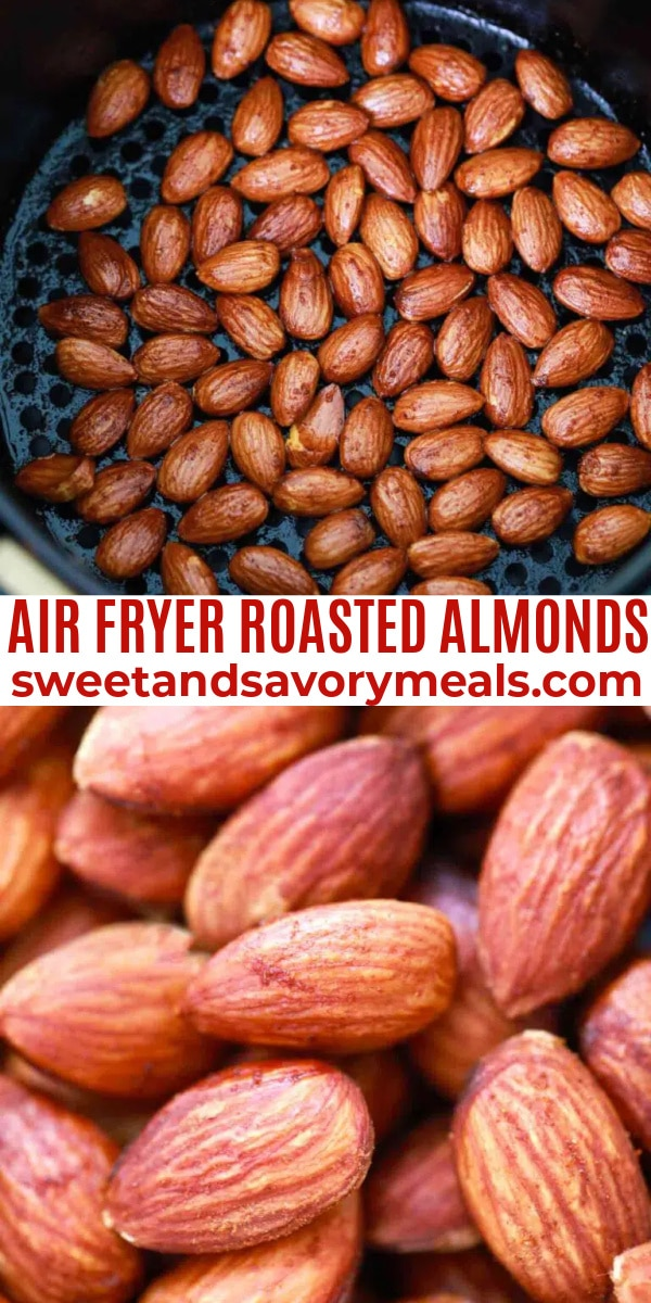easy air fryer roasted almond pin