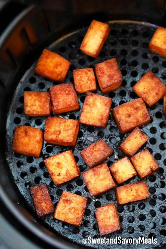 air fried tofu