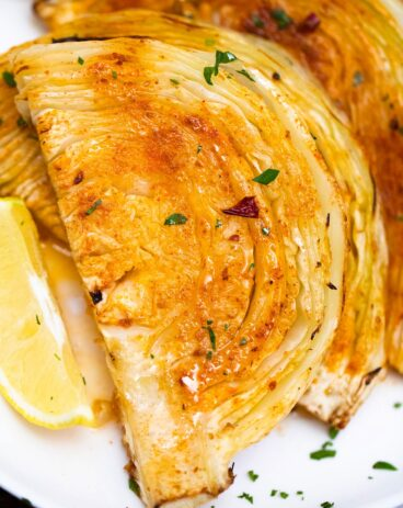 roasted cabbage