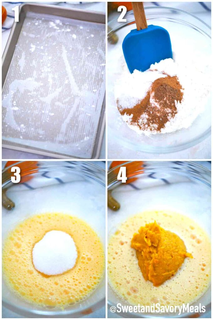 steps how to make pumpkin roll